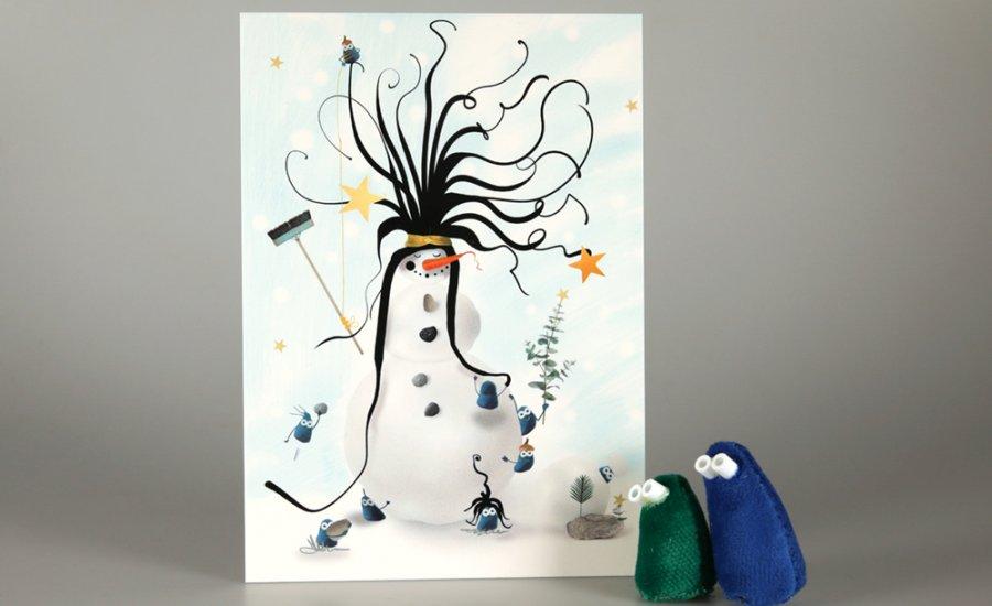 Winterkaarten Foomp