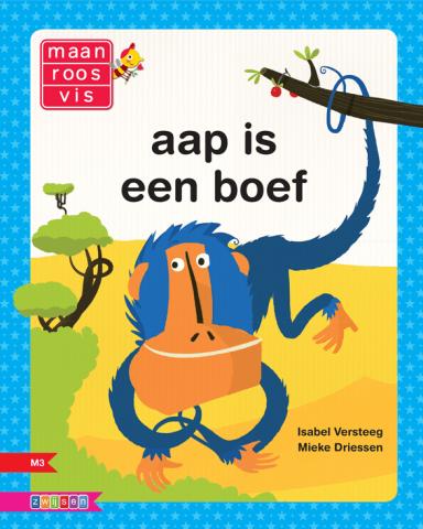 Boekomslag voor 'Aap is een boef'